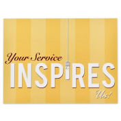 Your Service Presentation Card - Pack of 25