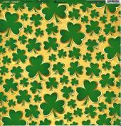 12x12 Reminisce Lucky Magic - Lucky Shamrocks Paper - 5 Sheets