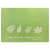 A Single Leaf Presentation Card - Pack of 25