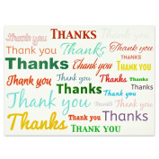 Words of Thanks Presentation Card - Pack of 25