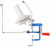 U-nitt Metal Jumbo large yarn/wool/string/fibre ball winder hand operated capacity 300ml ML702