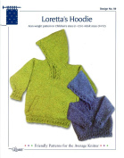 Design by Louise Knitting Pattern #39 Loretta's Hoodie