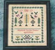 Elizabeth Martha Mackay Aged 10 Years An English Sampler Pattern