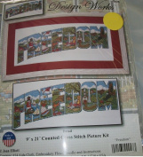 Freedom by Joan Elliot Counted Cross Stitch Kit 2326