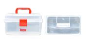 Bohin Transparent Plastic Sewing Box