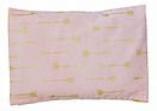 summer & sage Mustard Seed Infant Pillow, medium, arrows, blush