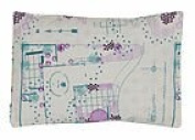summer & sage Mustard Seed Infant Pillow, large, jewel