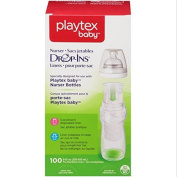 Playtex Drop-Ins Pre-sterilised BPA-Free Bottle Liners for Playtex Nurser Bottles 100 Count 240ml