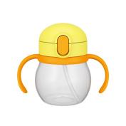 THERMOS baby straw mug NPD-250 yellow (Y) 250ml