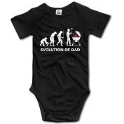 Evolution Of Dad Funny Food Chain Toddler Clothes