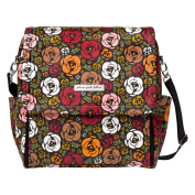 Petunia Pickle Bottom Boxy Backpack Glazed Canvas, Gardens of Gillingham