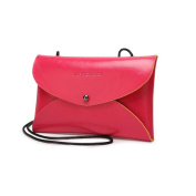 Women Leather Messenger Bag HN Clutch Purse Wallet On Sale