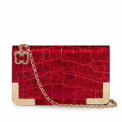 Eric Javits Luxury Designer Women's Fashion Handbag - Cassidy - Red