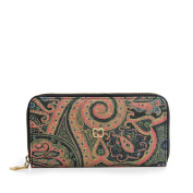 Eric Javits Luxury Designer Women's Fashion Handbag - Zip Wallet - Persia