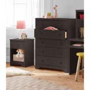 Better Homes and Gardens Kids Pine Creek 5-Drawer Chest, Espresso