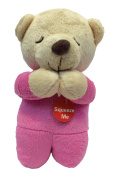 Teagan Prayer Musical Teddy Bear Pink - Spanish - Angel De Laguardia
