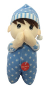 Spanish Prayer Doll Blue - Recites Angel De La Guardia