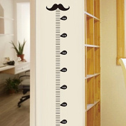 Amaonm® Giant Vinyl Growth Chart Kit | Kids DIY Height Wall Ruler Height Measurement Growth Chart Wall Decals Wall Stickers for Nursery Room Kids bedroom Living room Classroom