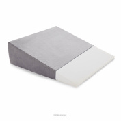Linenspa Wedge Pillow with Removable Velour Cover