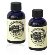Beard Oil by Mountaineer Brand, WV Timber, Scented with Cedarwood and Fir Needle, Conditioning Oil , 60ml bottle