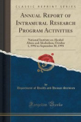 Annual Report of Intramural Research Program Activities