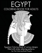 Egypt Coloring Book for Adults