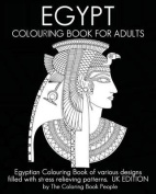 Egypt Colouring Book for Adults