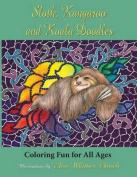 Sloth, Kangaroo, and Koala Doodles