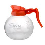 Bunn 42401.0024 1890ml Glass Decanter with Orange Handle