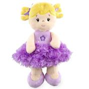 25cm Plush Purple Doll
