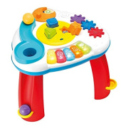 Winfun Multicolor Balls 'N Shapes Musical Table