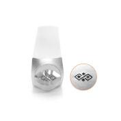 ImpressArt- Diamond Pattern Border Design Stamp, 6mm