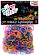 Expressions Girl / D.I.Y. 300-piece Scented Latex-free Rubber Band Bracelet Loom Refill Pack