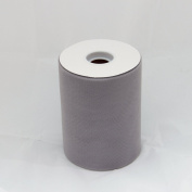 Grey Silver Tulle Roll - 15cm X 100 Yard - Tulle for Decoration and Tutu Dresses