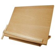 US Art Supply Extra Large Adjustable Wood Artist Drawing & Sketching Board