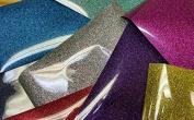 GRAB BAG of GLITTER HTV! 6 Random Pieces Perfect for Shirts HEAT TRANSFER VINYL GRAB BAG