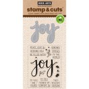 Hero Arts Joy Stamp & Cut Die