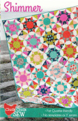 Shimmer Quilt Pattern, Fat Quarter Friendly, No templates and NO Y Seams!, 5 Size Options