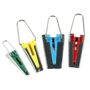Swinter™ Fabric Bias Tape Maker Binding Tool Sewing Quilting 4 Different Sizes(6mm 12mm 18mm 25mm)