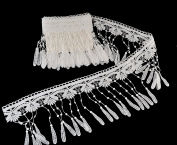 eZthings® Venise Edging Lace Trim From Eyelet Fabric For DIY Craft Venice Trims