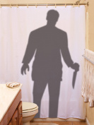 Scary Stalker Curtain Prop 180cm x 180cm Halloween Decoration