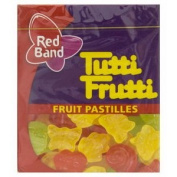 Tutti Frutti Rettige Gummy 15g. 6pack carrier to shipping international usps, ups, fedex, dhl, 14-28 Day By Dragon Shopping Thank You