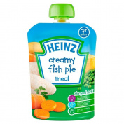 Heinz Mashed Creamy Fish Pie 7mth+ (130g) - Pack of 2