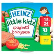 Heinz Little Kidz Spaghetti Bolognese 12mth+ (230g) - Pack of 2