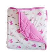 KYTE BABY Quilted Silky Bamboo Rayon Blanket (Toddler 1.0