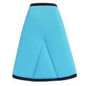 Gilroy Kids Car Safety Cover Strap Adjuster Pad Harness Seat Belt Clip - Blue
