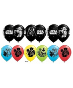 Star Wars Latex Balloons ~ Package of 12