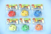 Globo Toys Globo - 35958 Vitamina_G 6 Colour Gommolosi Fish Toy