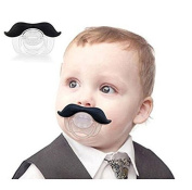 Interesting® Moustache Beard Pacifier Silicone Material Baby Funny Nipple