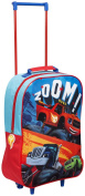 Children Kids Official Blaze & Monster Machine Design Travel Luggage Trolley Bag